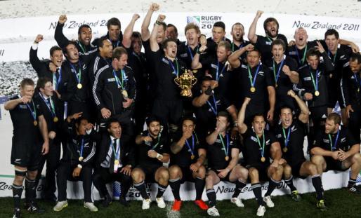 Los All Blacks, en una imagen de archivo.