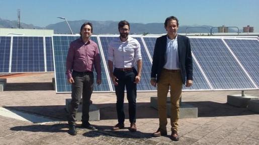 El conseller de Territorio, Energía y Movilidad, Marc Pons, ha visitado este miércoles la empresa Elèctrica Puigcercós.