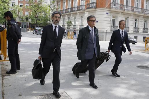 Imagen de archivo Jordi Pujol Ferrusola (c), el primogénito del expresidente catalán.
