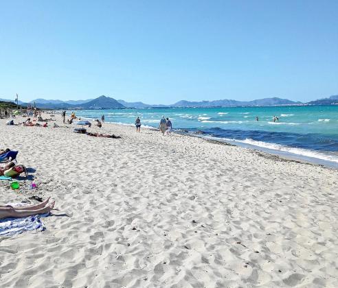 En la playa de Capellans la instalación de hamacas deberá superar la evaluación de impacto ambiental.