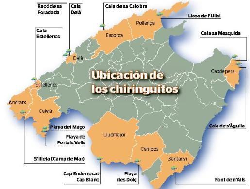 Afectaría a diez municipios por construcciones en zonas LIC y en el parque natural de Mondragó.