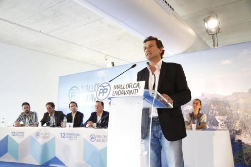 Biel Company, durante su intervención en el Congreso Insular del PP.