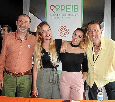 Paco Chiva, Carolina Fernández, Cristina Roig y Jesús Neiro.