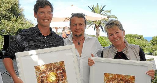 Jascha Rübke, Andreas Streicher y Brigitte Röglin.