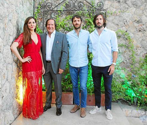 Carmen Llompart, Guillermo, Xim y Xisco Llompart.