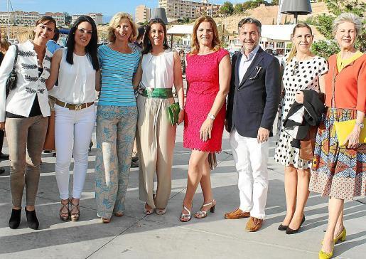 Katja Bischof, Gloria Nieto, Heidi Stadler, Mariana Chacón, Mariana Muñoz, Francisco Mercadal, Helena Bennássar y Anke Sevenster.
