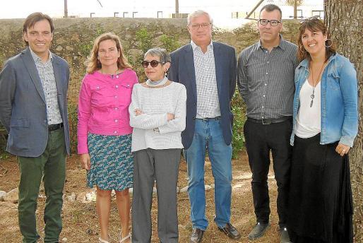 Francesc Miralles, Rosa Maria Mateos Maria, Antònia Oliver, Josep Lluís Roses, Jordi Cerdà y Carme Castells.