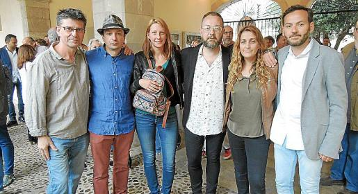 Toni Garreta, Marcos Vidal, Aleksandra Sana Rasulic, David Campaner, Mar Agüera y Francisco García.