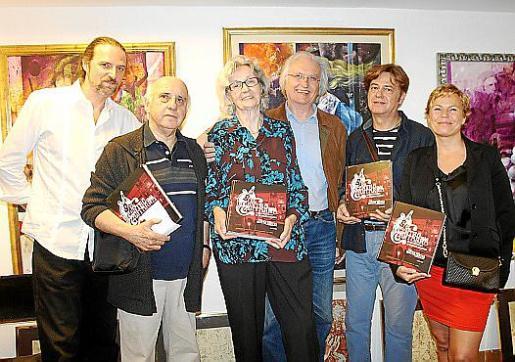 Mark Burr, Pedro Estarellas, Rita Davíu, Joan Toni García, Javier Jover y Natasha Zimmerman.