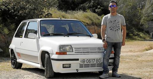 Clemente Rubio es un enamorado de los Renault GT, de ahí que su ilusión era conseguir uno .