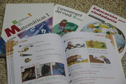 Convocan las ayudas para la reutilización de libros de texto.