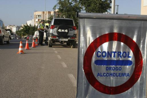 Control de alcoholemia en Ibiza.