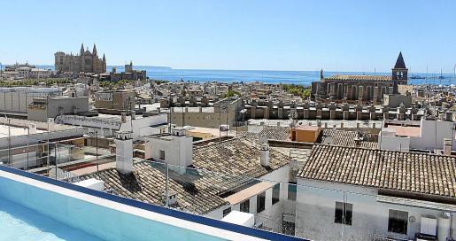 En el centro de Palma proliferan los pisos destinados al alquiler turístico.