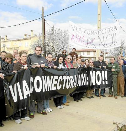 Manifestación de protesta, el miércoles.