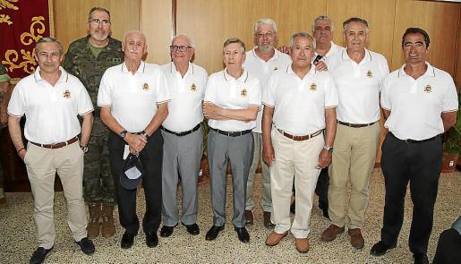 Ignacio Marban, Juan Ramis, Miguel Montojo, Miguel Pinilla, Juan Mateu, Juan Florit, José Poncela, Tomeu Serra, José de la Peña y Juan Pablo Pradillo.
