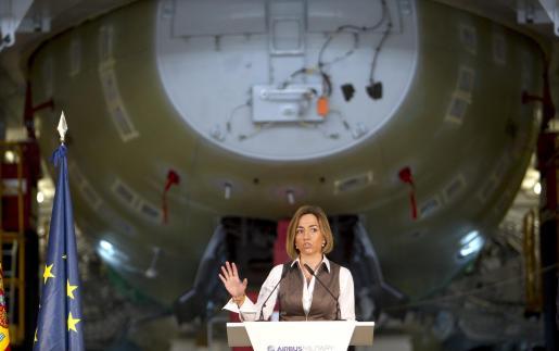 La ministra de Defensa, Carmen Chacón.
