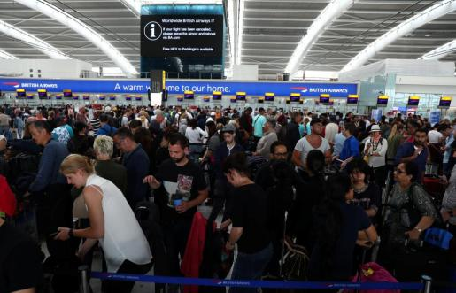 El pasado fin de semana se registraron incidencias en vuelos de British Airways.
