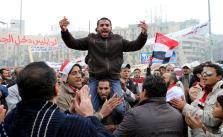 PROTESTAS CONTRA EL GOBIERNO EN EL CAIRO