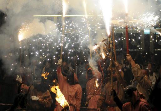 Los correfocs y otras fiestas en las que se utilizan artificios pirotécnicos han sido declaradas fiestas de carácter religioso, cultural y tradicional.