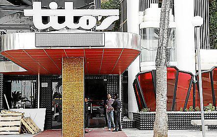 Fachada de la discoteca Tito's.
