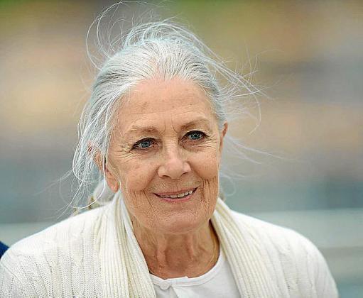 Vanessa Redgrave, en una imagen tomada en Cannes, donde presentó su primer filme como directora.