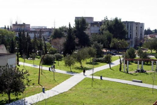 Vista general del campus de la UIB.