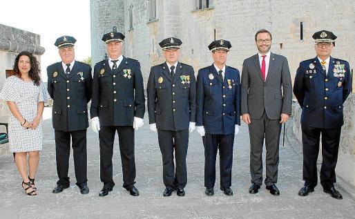 Angélica Pastor, Tomás Brull, Miquel Pericás, Miguel Quetglas, José Antonio Bravo, José Hila y Josep Palouzié.