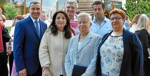Toni Ferrer, Antonia Torres, Ramón García, Margalida Alemany, Javier Vidal y Ana Pons.