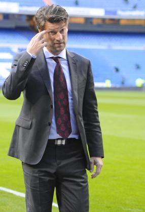 El entrenador del Mallorca, Michael Laudrup.