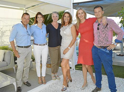 Bruno Meyer, Birjit Suessmild, Claudia Sant 'Andrea, Mariana Muñoz, Marga Rempel y Manuel Prosalko.