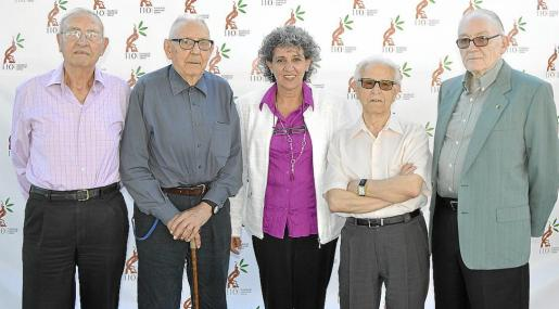 Carlos Caimari, Joan Mir, Margalida Ferragut, David Torres y Toni Salas.