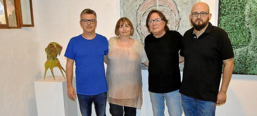 Guillem Vicenç, Dolors Pérez, Carles Fabregat y Joan Oliver.