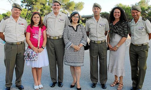 Jesús Quiroga, Laura Morgan, Juan Ramis, Pilar Rubalcaba, José Miguel García, Montse Morgan y Chechu Hernando.