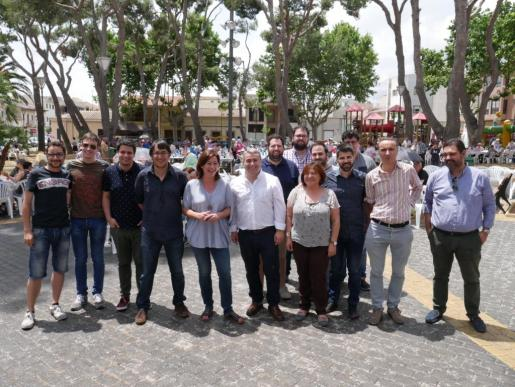 El PSIB ha celebrado su Fiesta de la Rosa en Inca.