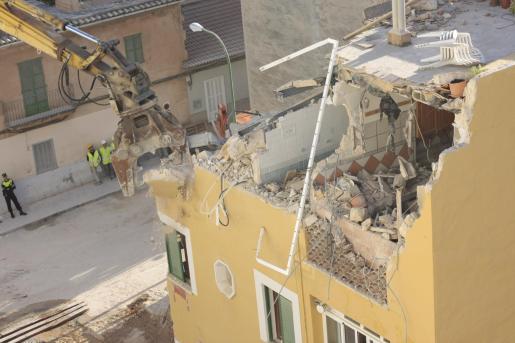 Cort ha hecho público el informe técnico sobre el derrumbe de un edificio en la calle Rodríguez Arias de Palma.