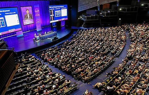 Imagen del congreso de la ASCO, que se celebra estos días en Chicago.