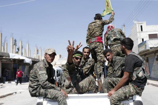 La ofensiva final para arrebatar la capital del autoproclamado califato a Estado Islámico ha empezado.