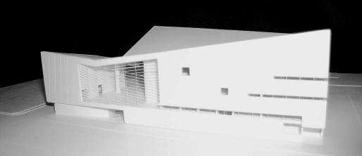 Maqueta del proyecto de Moneo.