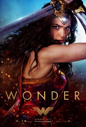 Póster promocional de «Wonder Woman».