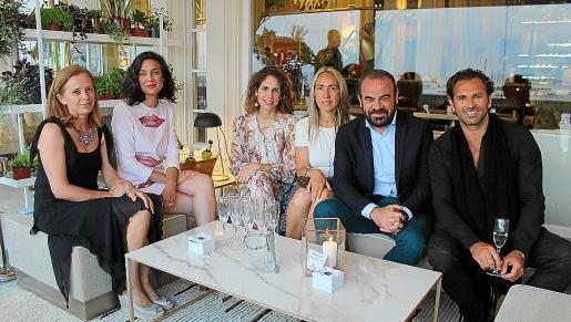 Ada Andreu, Marta Suasi, Sabina Fluxá, Belén Puerto, Gabriel Escarrer y Jens Liebhauser.