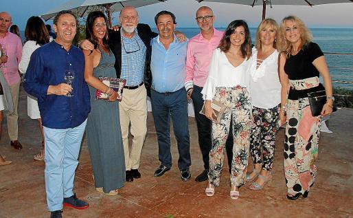 Mateu Crespí, Joana Cañellas, Paco Berga, Xisco Bennàssar, Miquel Maimó, Helena Maimó, Cati Payeras y Mar Mascaró.