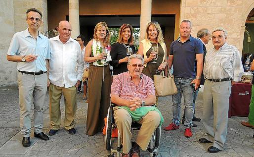 José Cures, Guillem Vidal, Antonia Nadal, Gema Muñoz, Águeda Ropero, Radko Paulov, Sebastián Roig y Jaume Mesquida.