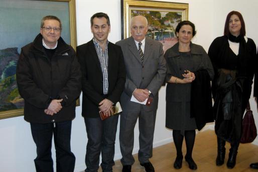 Joan Serra, Xisco Mulet, Nadal Torres, Silvia Pizarro y Noelle Estaràs.
