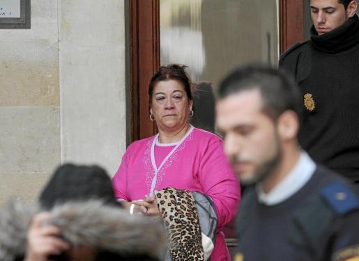 'La Paca', durante el juicio del 'caso Son Banya', en enero de 2009.