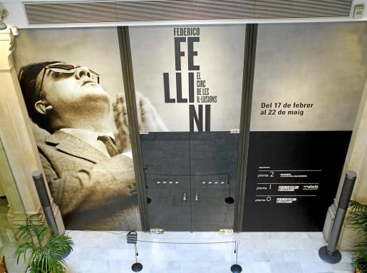 La exposición sobre Federico Fellini puede verse en Caixafòrum.
