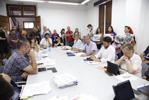 La comisión de Patrimonio se ha reunido este martes en la Misericòrdia.