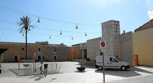 Campos ha ido dando prioridad a los peatones en distintos espacios del centro del pueblo.