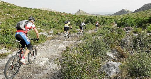 Las rutas cicloturísticas forman parte de la amplia oferta turística de Capdepera.