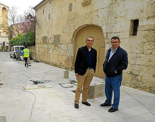En Muro se ha ejecutado un plan de pavimentación de calles.
