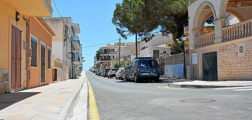 La calle Juan Sebastián Elcano de Cala Figuera ha sido totalmente remodelada.